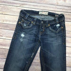 MEK Long Boot Cut Jeans